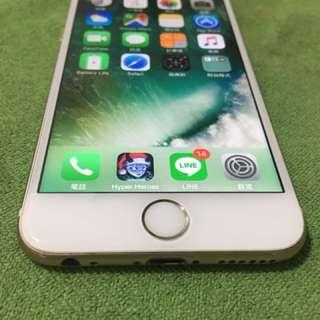 iphone 6 4.7寸 64g土豪金iOS10.32