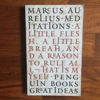 Marcus Aurelius - Meditations (Penguin Great Ideas, 2004)