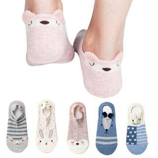 Cute Korean Socks With Ears
