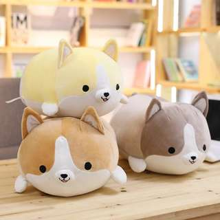 35cm Corgi Stuffed Toy Cushion Gift