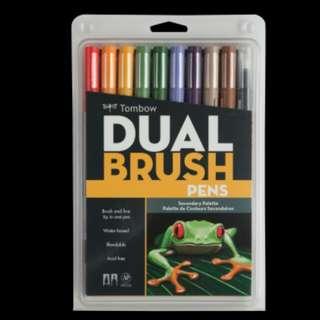 Dual Brush Pen Set, Secondary 10 pcs
