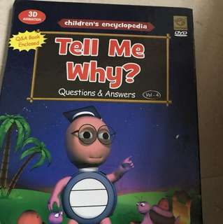Tell me why dvd