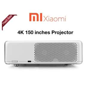 Xiaomi laser 4k projector Mi projector up to 150inches