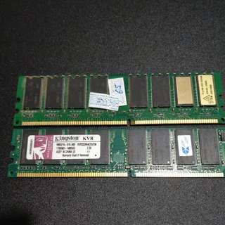 Kingston DDR KVR333X64C25/256 memory