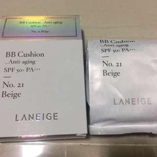 Laneige anti aging B.B. cushion