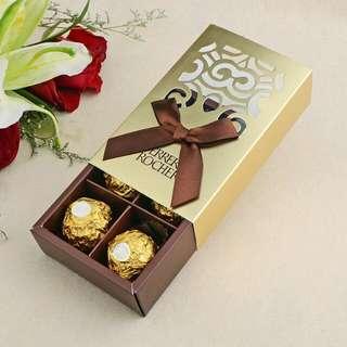 Ferrero Roche Wedding Favour Box / Berkat