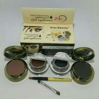 KISS EYELINER GEL 2IN1