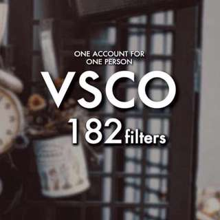 VSCO X permanent presets