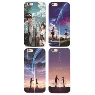 [FREE DELIVERY] (iPhone & Samsung) Kimi no Nawa Phone Cases