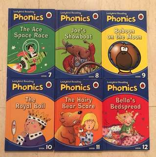Ladybird Phonics books