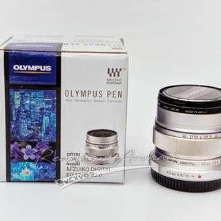 Olympus m zuiko 12mm 2.0 m43 mft