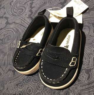 navy loafers shoes - 3-6months