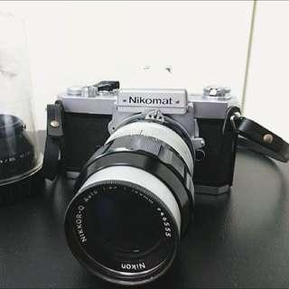 底片相機 單眼相機 機械相機 Nikon Nikomat FT2