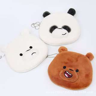*PREORDER* We Bare Bears Pouch