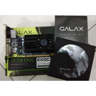 VGA Card GALAX Geforce GT 730 1GB DDR5 64 Bit