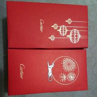 全新cartier利是封,每款3盒,每盒20個,$100盒