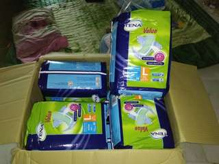 Tena adult pampers size L
