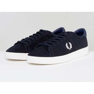 (Pre-order) Fred Perry Spencer Canvas Trainers