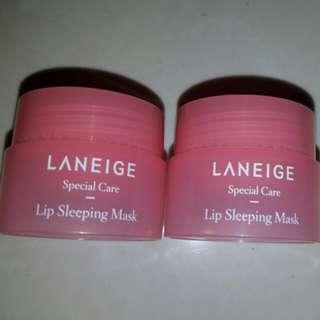 New 2x3g Laneige Lip Sleeping Mask