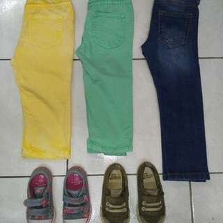 pakaian kanak kanak umur 2-3 tahun