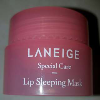 New 3g Laneige Lip Sleeping Mask Berry