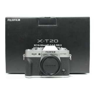 Fujifilm X-T20 Body 99%New , WTY Until May2018