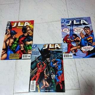 JLA #44, 45 & 46 DC Comics 2000