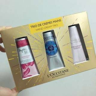 [BN] L'Occitane Hand Cream Trio