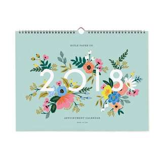 Rifle Paper Co. 2018 Wall Calendar