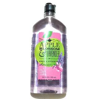 Bath & Body Works showel gel (apple blossom & lavender)