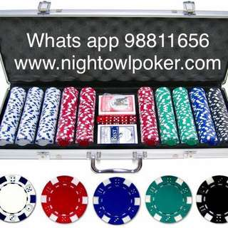 Poker Chips Set Promo