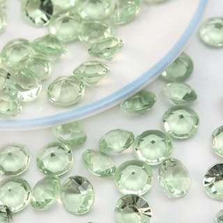 🆕 Light Green Crystal Bling