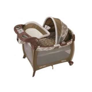 Graco silhoutte baby box and little lounger