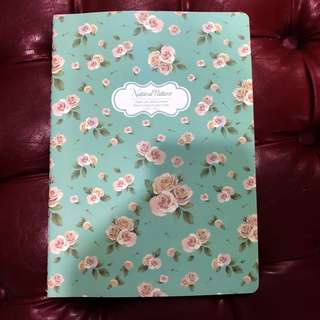 $1 note book