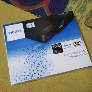 Philips DVD Blue Ray Player