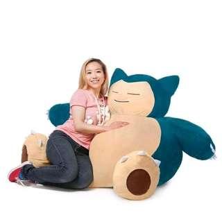 Official Pokemon Go Snorlax Bean Bag Giant Plushie