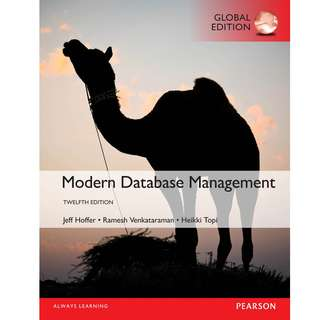 Modern Database Management 12th Global Edition