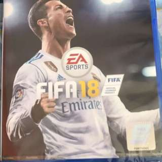 PS4 FIFA18 with unused player code!