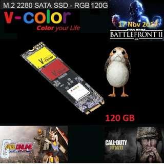 SSD V-color VLM100 RGB M.2 2280 SATA 120GB.