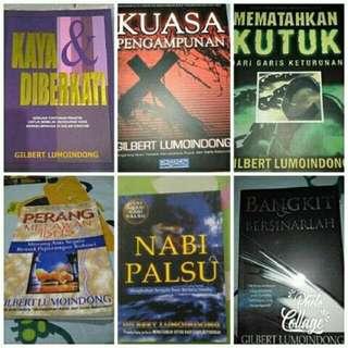 Koleksi 6 Buku penulis Gilbert lumoindong