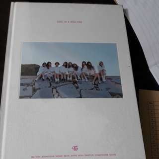 Twice one in a million album