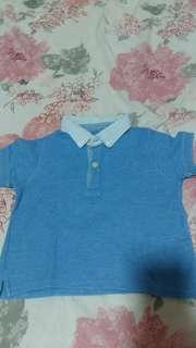 Gingersnap polo shirt anak
