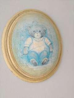 Teddy bear wood