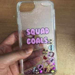 CLEAR IPHONE 7/8 CASE | SQUAD GOALS