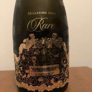 Piper Heidsieck Rare 2002 Champagne