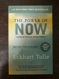The Power of Now by Eckhard Tolle