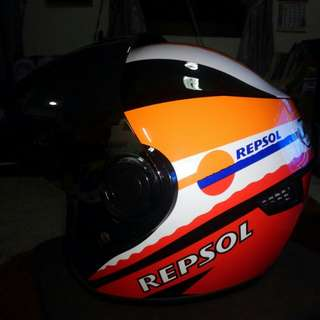 Helmet Repsol Like New
