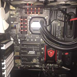 MSI Z97 Gaming 5 Motherboard and Intel  I5-4690K processor