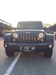 Jeep Wrangler Rubicon Black 2012