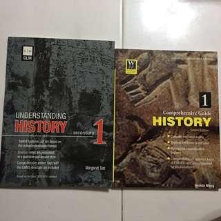 Sec 1 History Assessment (2 books)